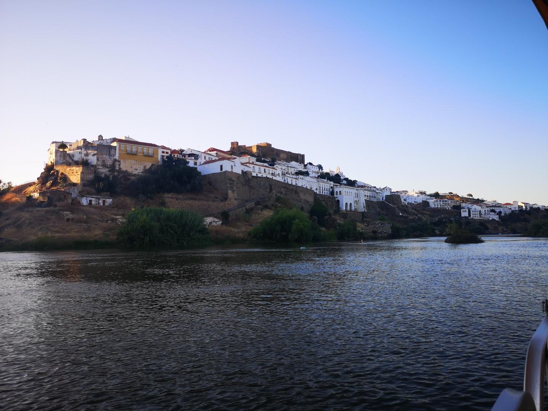 Gentes e Locais/Mértola - Vista do Rio Guadiana