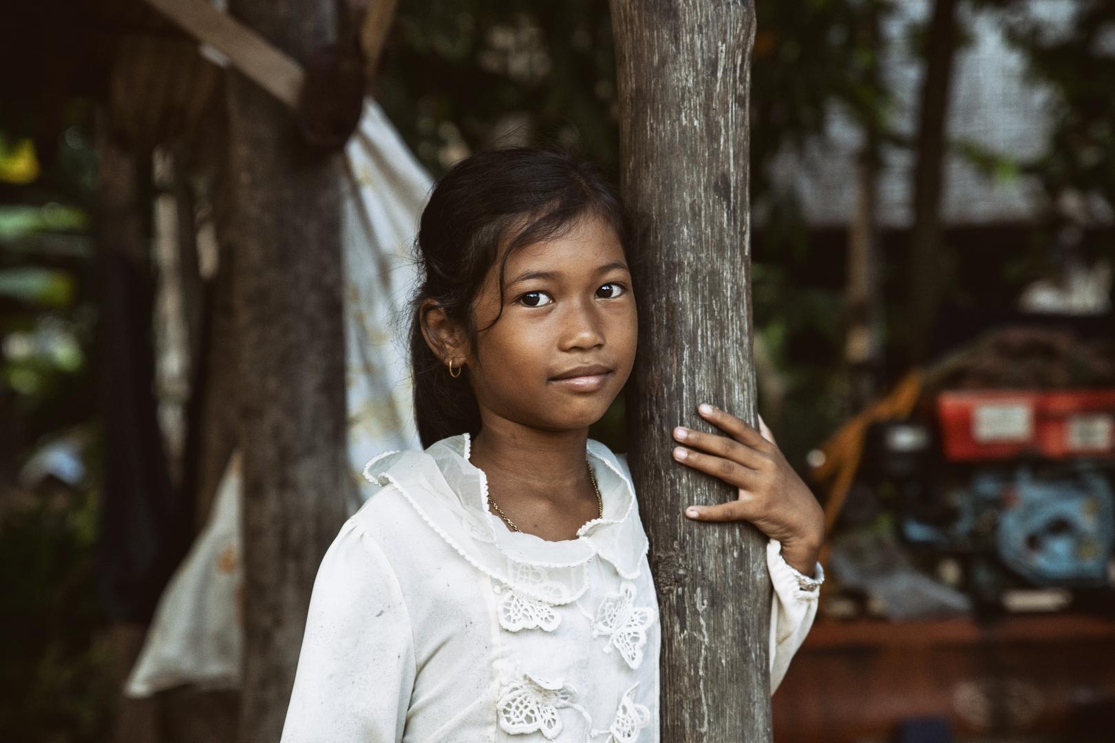 Retratos/Cambodian Girl