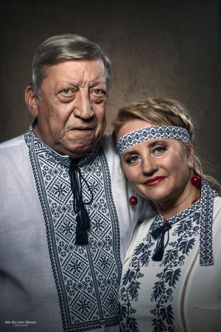 Retratos/Anna e Joaquim, da Ucrânia, com amor