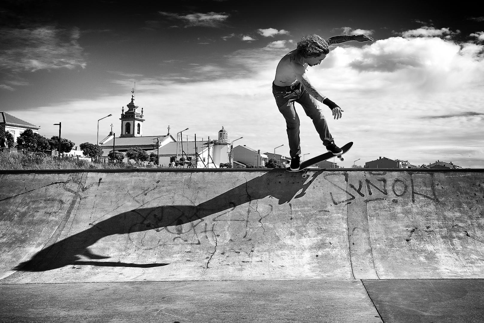 Desporto e Ação/Skate Shadow Project !