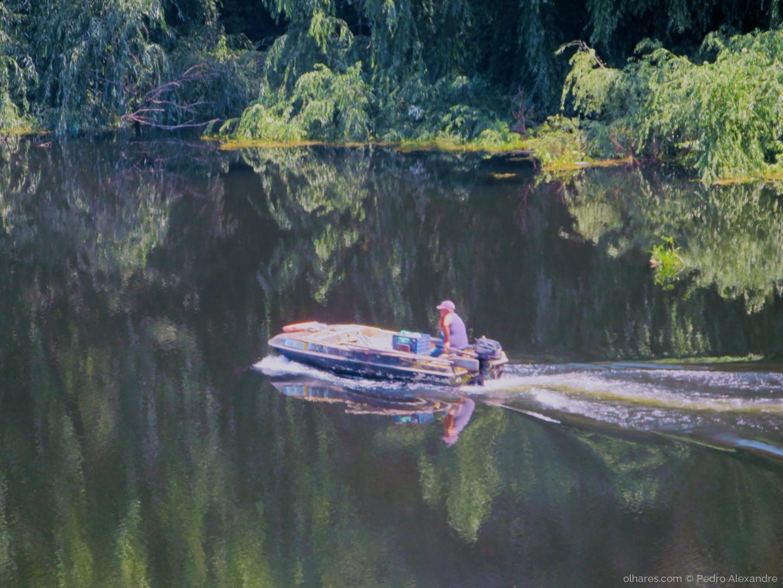 Paisagem Natural/Reflexos no rio Tejo