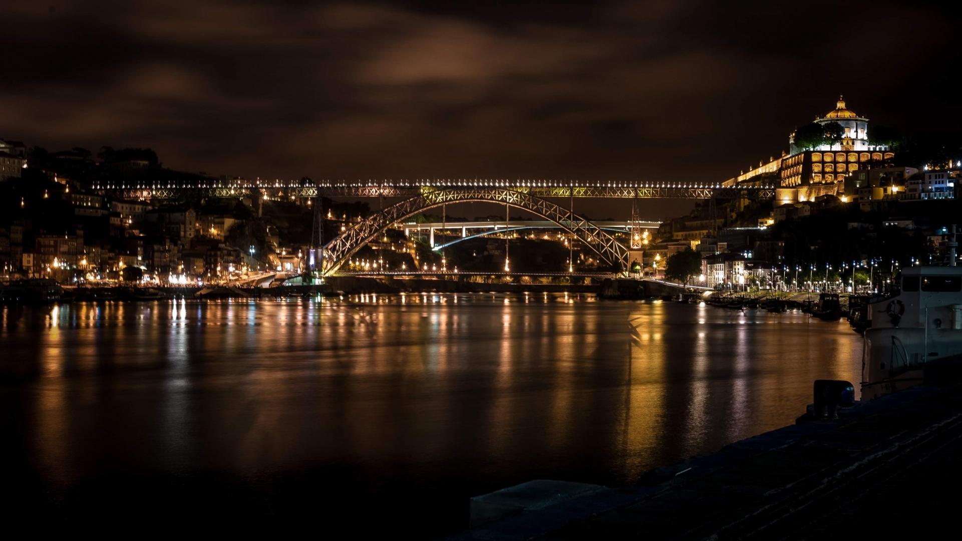 Paisagem Urbana/Porto by night !