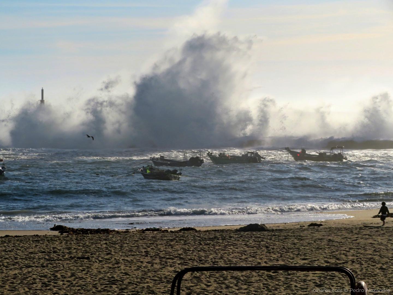 Paisagem Natural/Forte agitação marítima