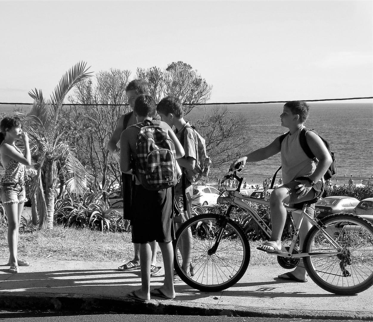 Fotografia de Rua/Há sempre uma linha acima do Horizonte