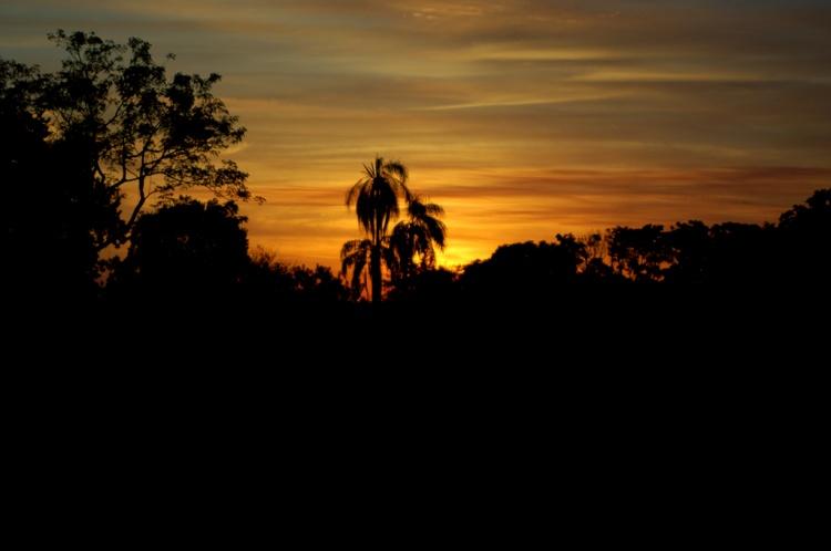 Paisagem Natural/Por do Sol nas Missões - RS