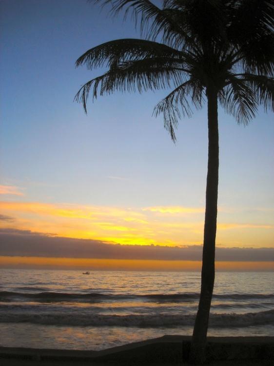Paisagem Natural/O nascer do sol