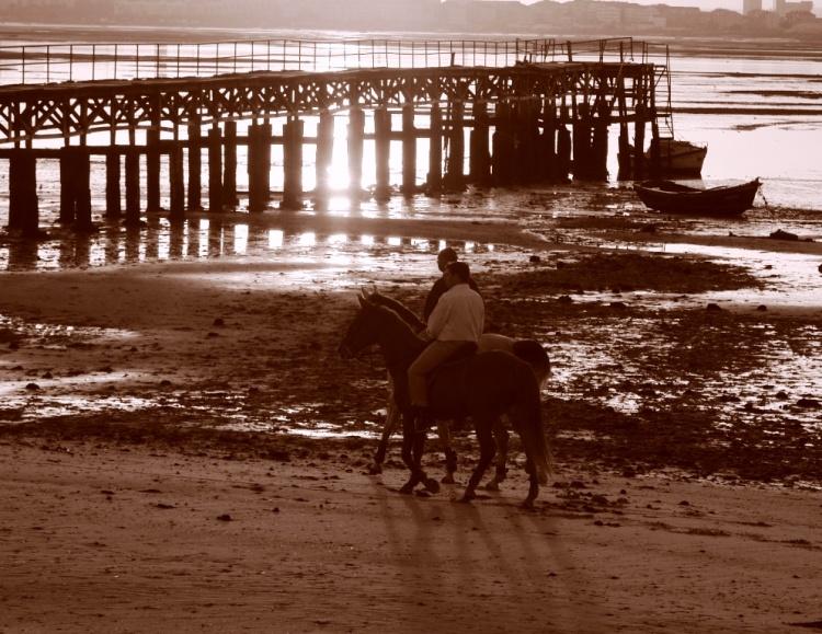 Paisagem Natural/Praia do Rosario - Moita