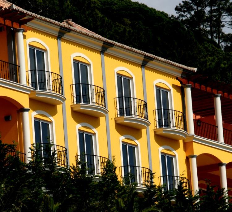 Paisagem Urbana/Casas amarelas
