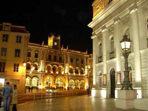 Paisagem Urbana/Lisboa à noite!