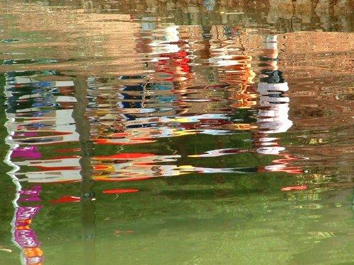 Abstrato/gente ...refletida