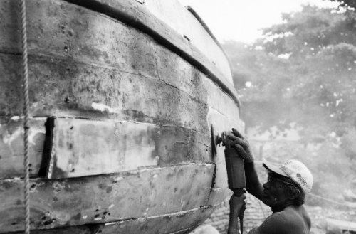 Gentes e Locais/Trabalhando no barco