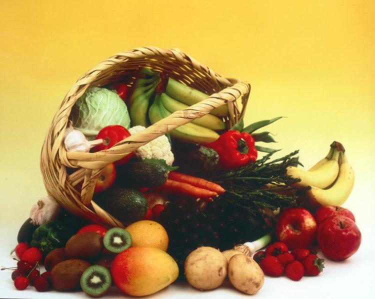 Outros/Cesto com frutas...