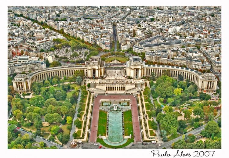 Paisagem Urbana/A Vista da Torre Eiffel