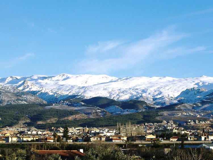 Outros/Granada-uma vista parcial de sierra nevada