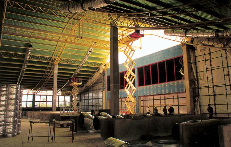 Outros/Estruturas pesadas - interior