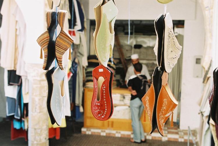 Outros/Babuche - feita com pele de camelo