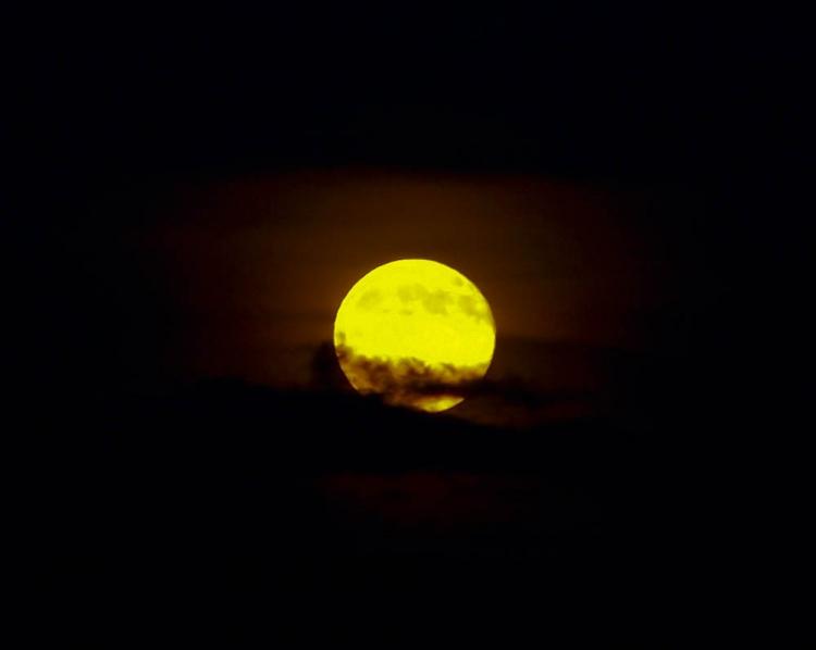 Paisagem Natural/Nascer... da Lua!