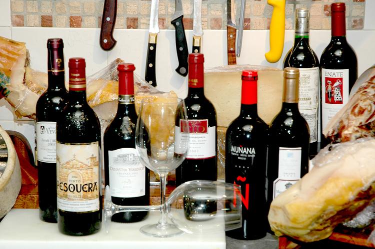 Outros/... alguns vinhos...