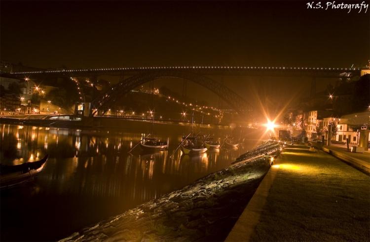 Paisagem Urbana/Ponte D Luis I à Noite