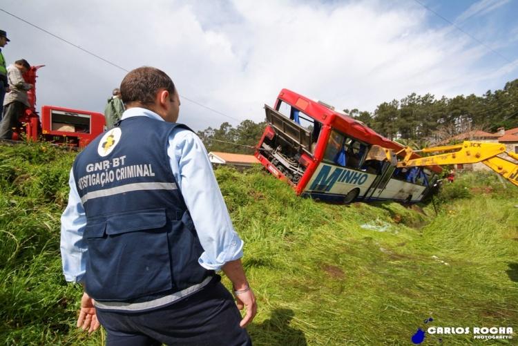 Fotojornalismo/Novo susto com autocarro|acidente em Esposende