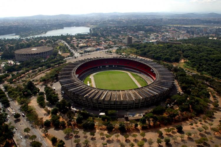 Retratos/Estádio Mineirão - Belo Horizonte