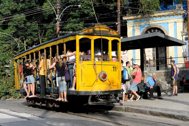 Gentes e Locais/Bondinho de Santa Teresa, Rio de janeiro