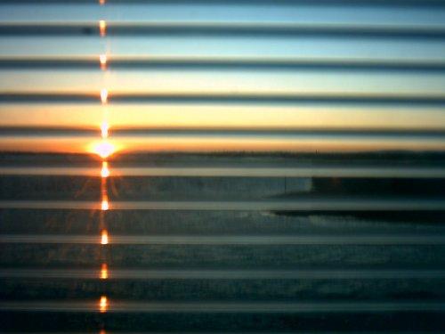 Paisagem Natural/Pôr-do-sol sobre a Qta do Lago...