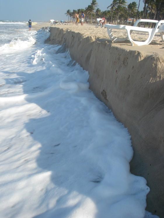 Paisagem Natural/A força do mar