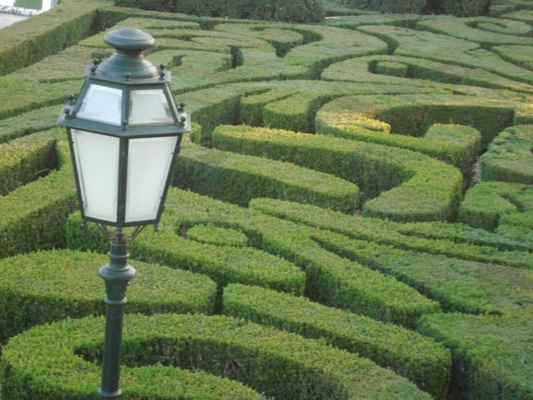 Paisagem Urbana/Jardins do palácio de Belém - Lisboa