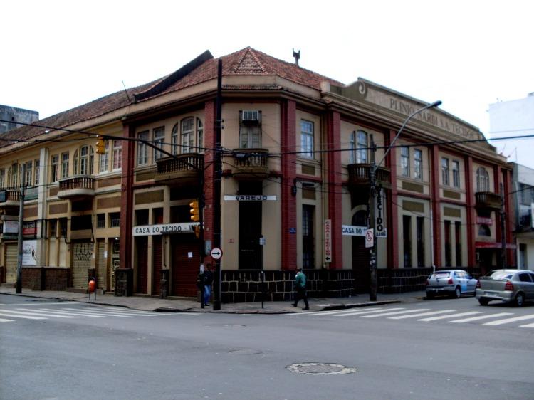 Paisagem Urbana/Prédios antigos em Porto Alegre