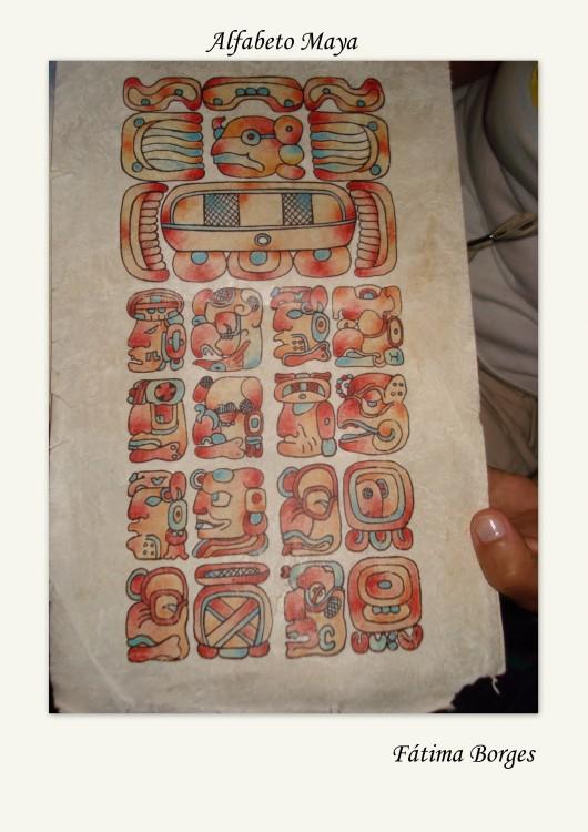 Outros/Alfabeto Maya
