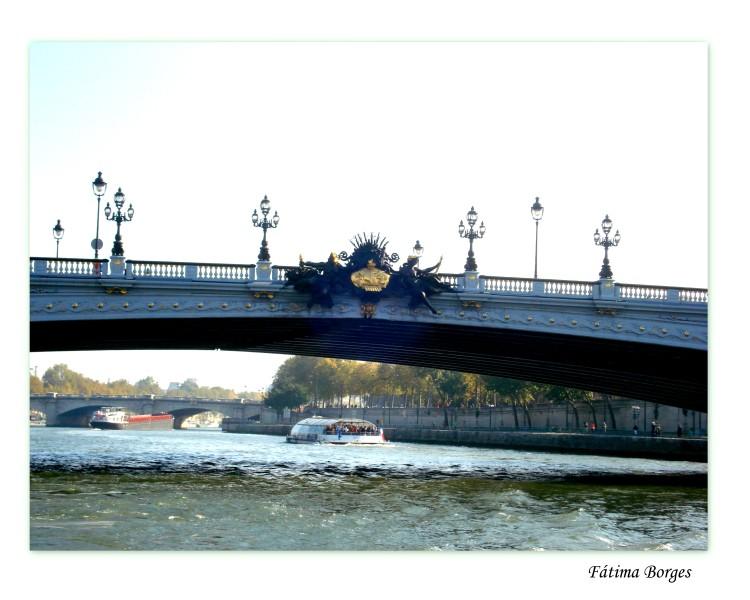 Paisagem Urbana/Pontes sobre o rio Sena