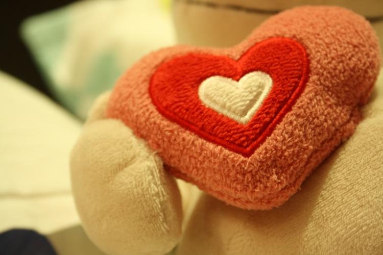 Outros/Coração de peluche