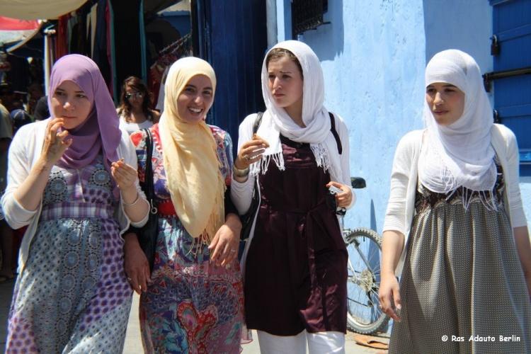 Outros/Jovens marroquinas em Tanger