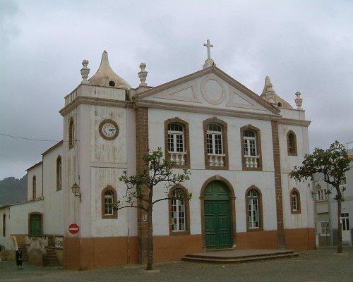 igreja portuguesa em s u00e3o nicolau - cabo verde foto de ant u00f3nio guerreiro