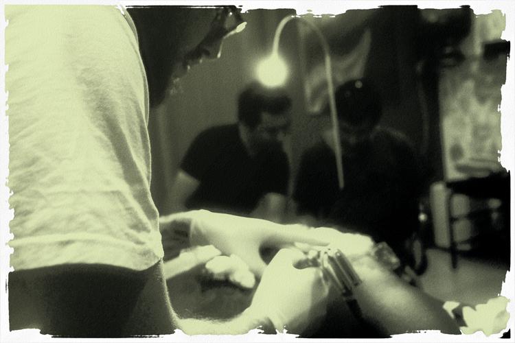Retratos/la tatuage