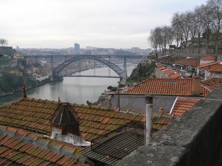 Paisagem Urbana/ponte Luiz I, vista das Fontaínhas
