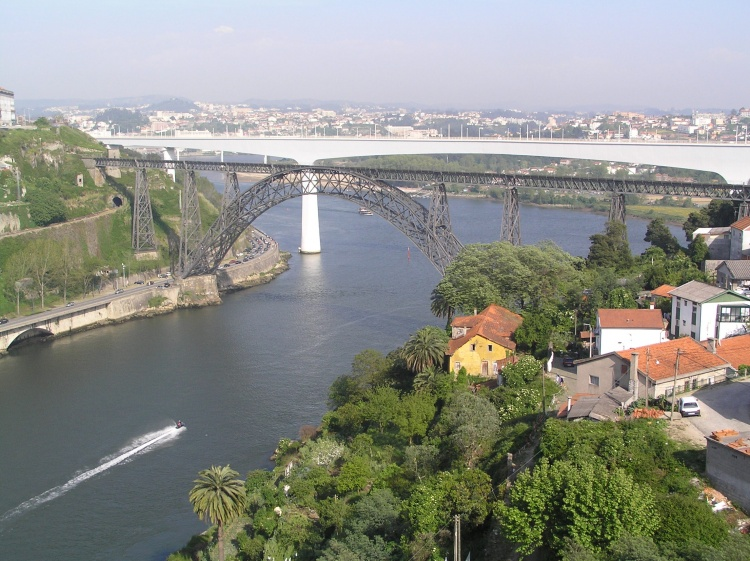 Paisagem Urbana/as duas pontes ferroviárias