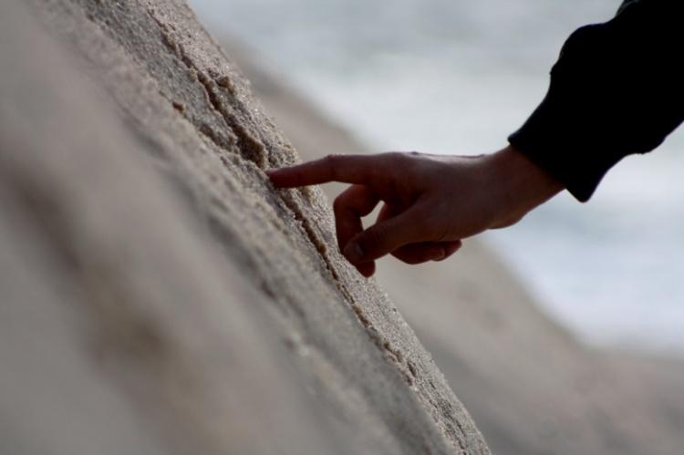 Paisagem Natural/Escrever na areia