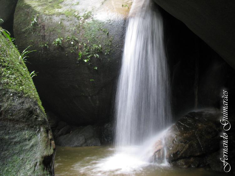 Paisagem Natural/Cascata Diamantina na Floresta da Tijuca - RJ