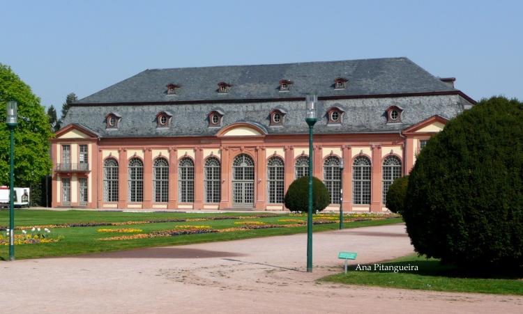 Outros/O Palácio de Orangerie em Darmstadt