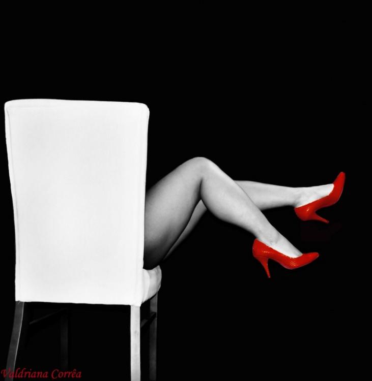 Retratos/Pernas da cadeira?