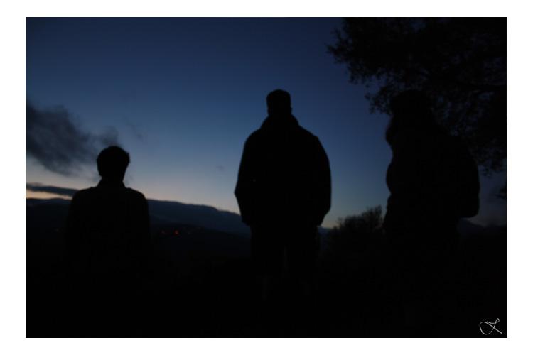 Paisagem Natural/À Noite no Gerês