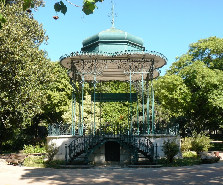 Artesanato Em Couro ~ Coreto do Jardim da Estrela Foto de Odete Olhares Fotografia Online