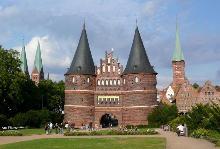 Outros/Holstentor von Lübeck