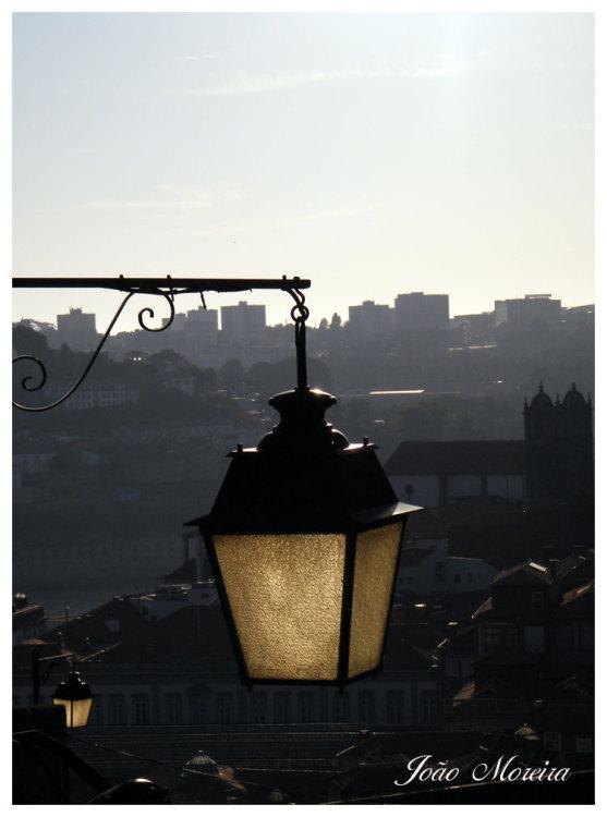 Paisagem Urbana/Porto ao fundo