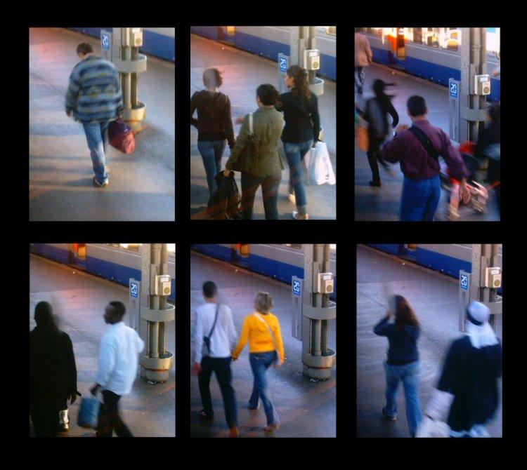 Paisagem Urbana/Gare de l'est - Chuva dissolvente