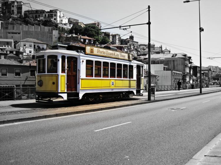 História/Porto Tram City Tour
