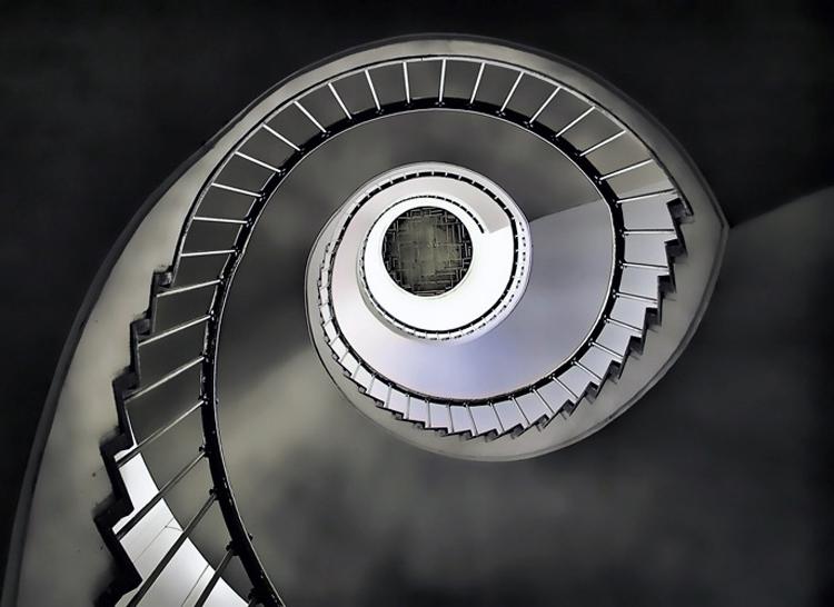 Abstrato/escada em caracol