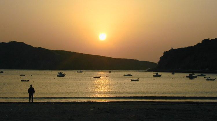 Gentes e Locais/Tranquilo pôr-do-sol!!
